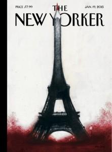 Portada del New Yorker para homenajear a los dibujantes que murieron en el atentado