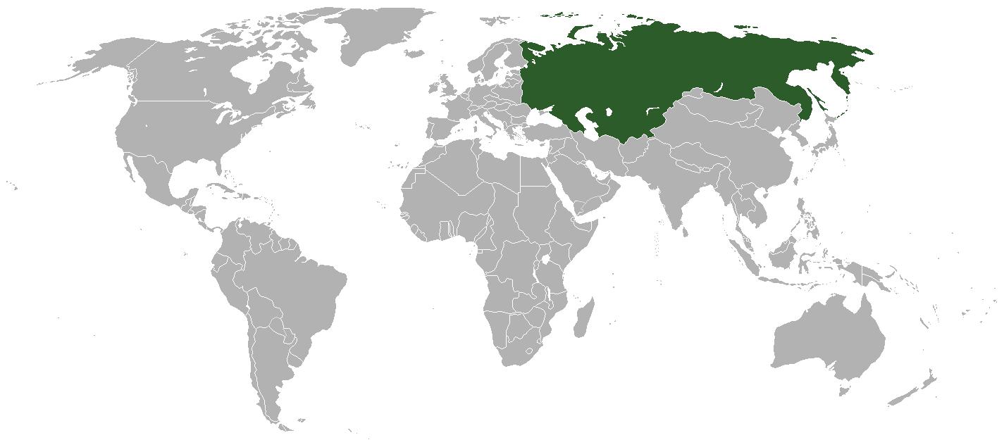 Mapa Union Sovietica
