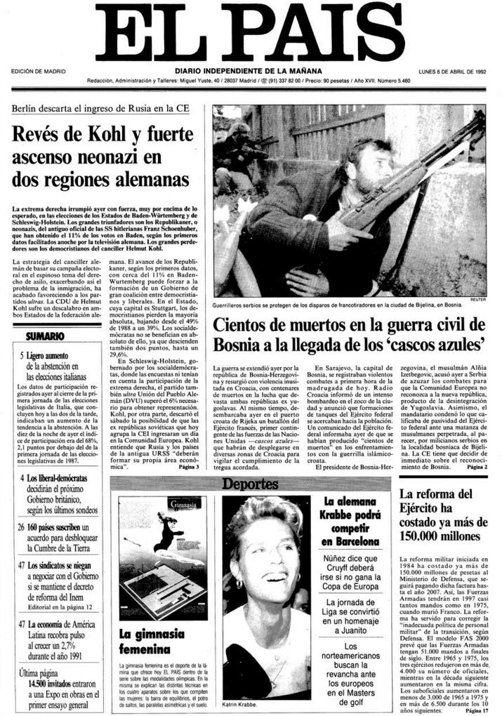 6-4-1992-portada-sarajevo