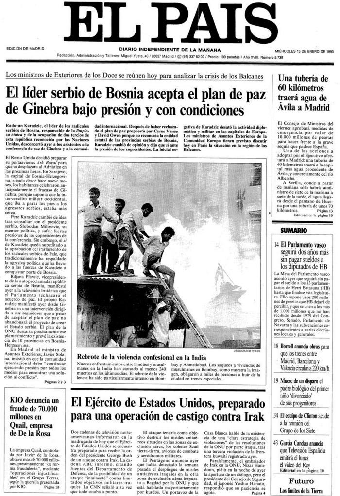 13-01-1993--portada-sarajevo