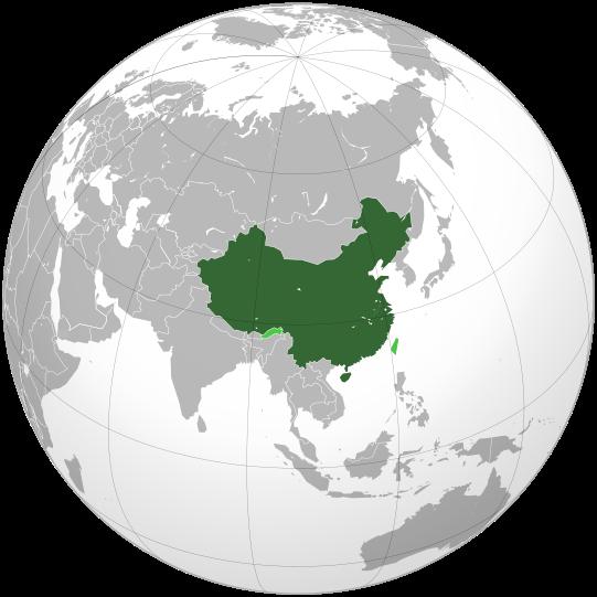 Mapamundi Chinaok