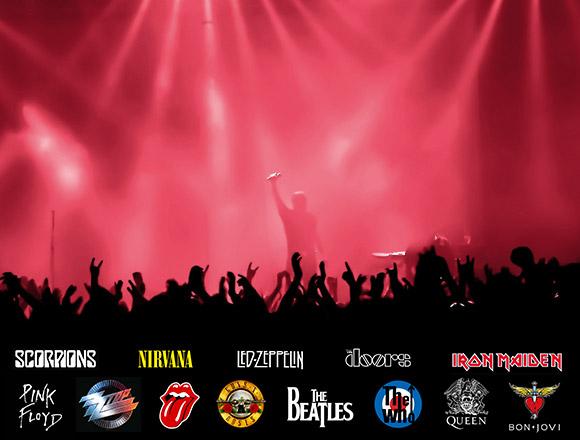 ¿Con qué grupo te hubiera gustado subirte al escenario?