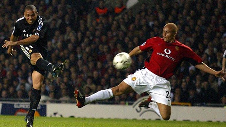 Ronaldo hattrick Old Trafford