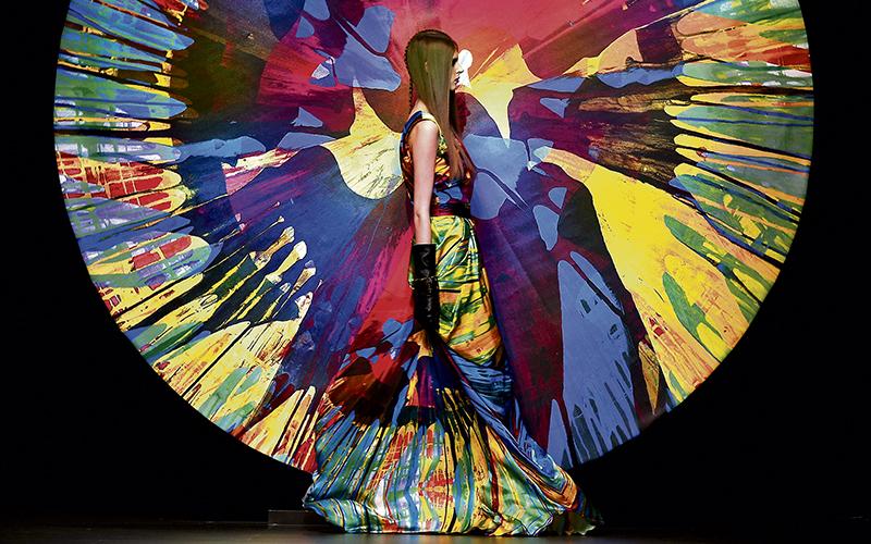 Desfile en Madrid Cibeles Fashion Week, la antigua Pasarela Cibeles, creada en 1980. / CRISTOBAL MANUEL