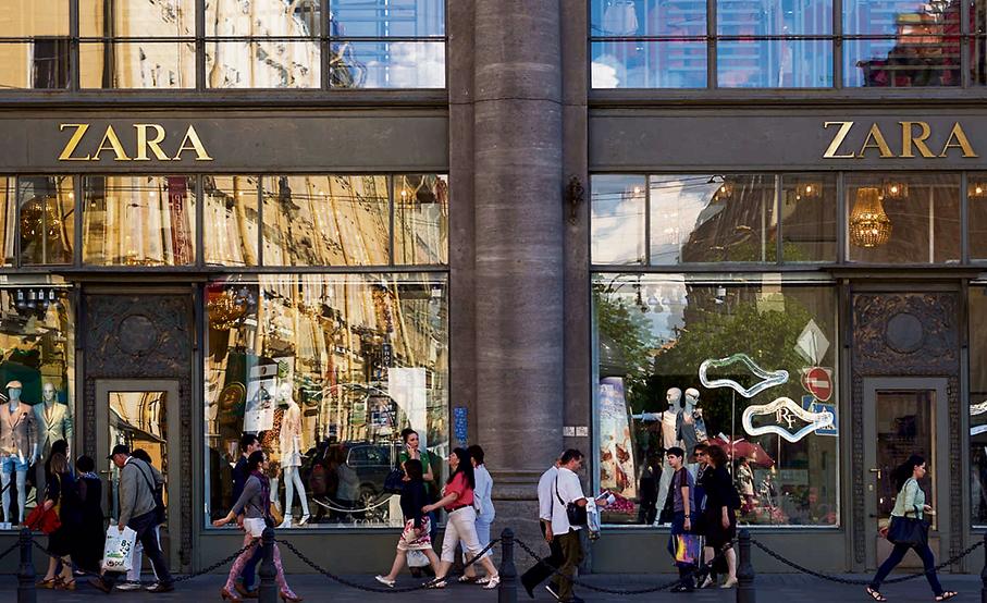 Tienda de Zara en Nueva York.