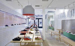 Tienda de zapatos de Camper.