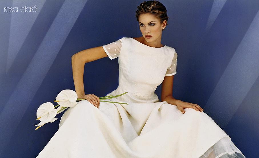 Primer vestido de Rosa Clará