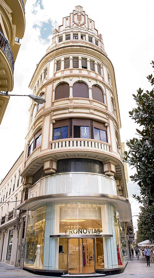 Sede de Pronovias, en Barcelona